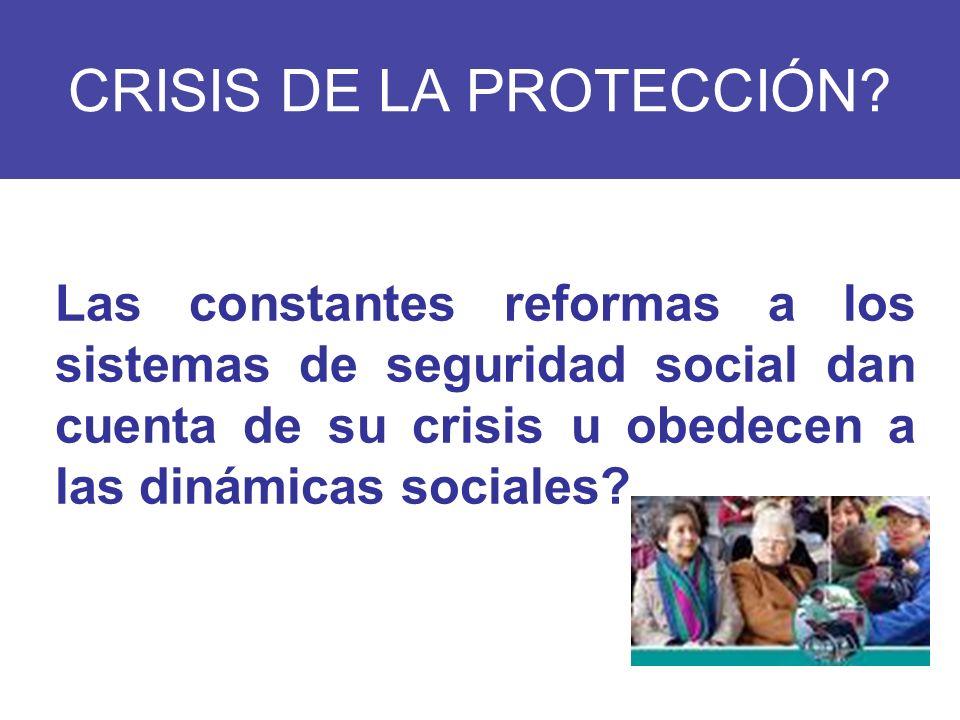 CRISIS DE LA PROTECCIÓN