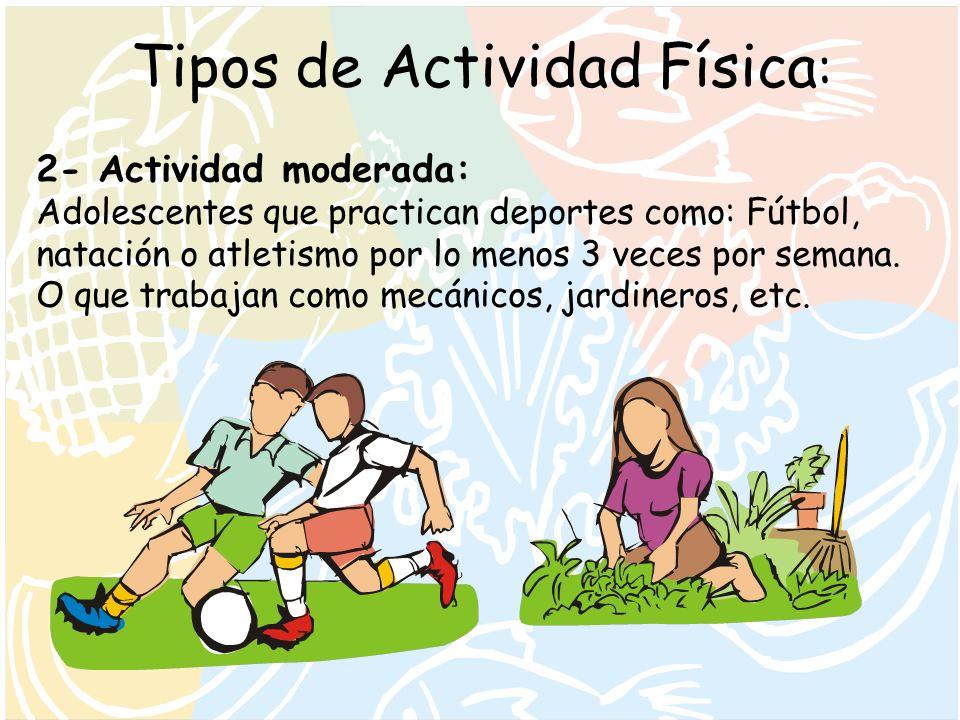 Tipos de Actividad Física: