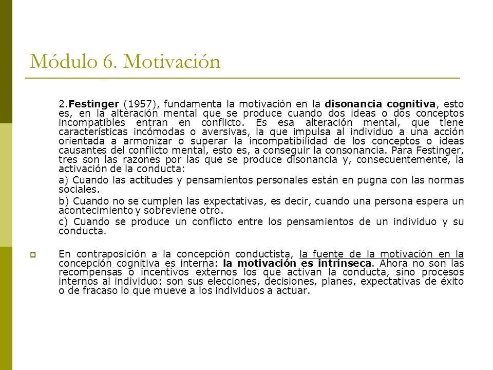 Módulo 6. Motivación