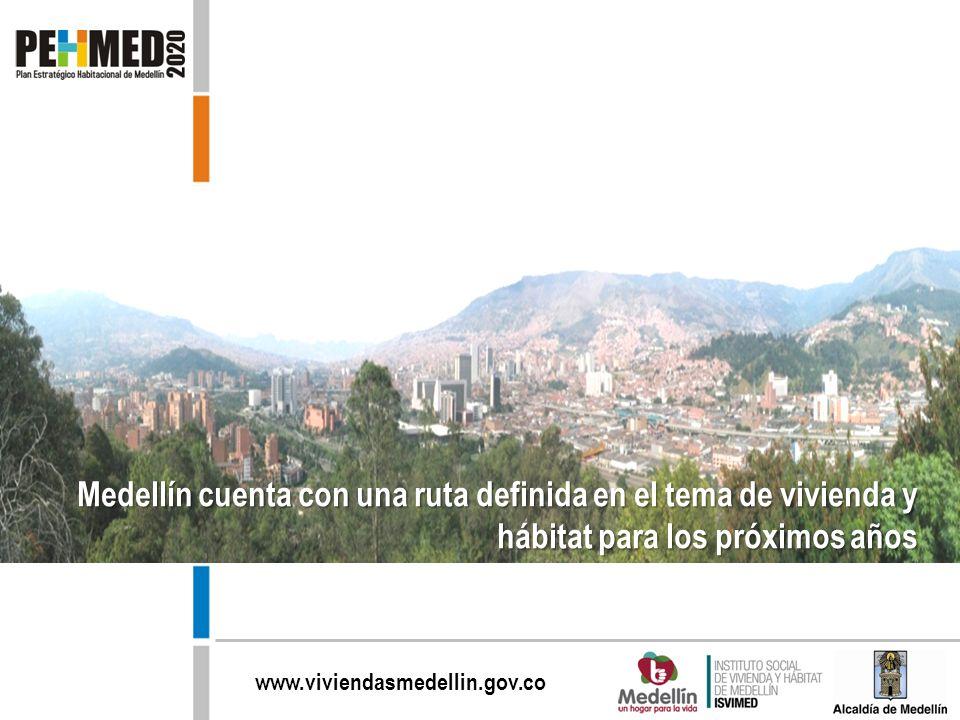 Medellín cuenta con una ruta definida en el tema de vivienda y