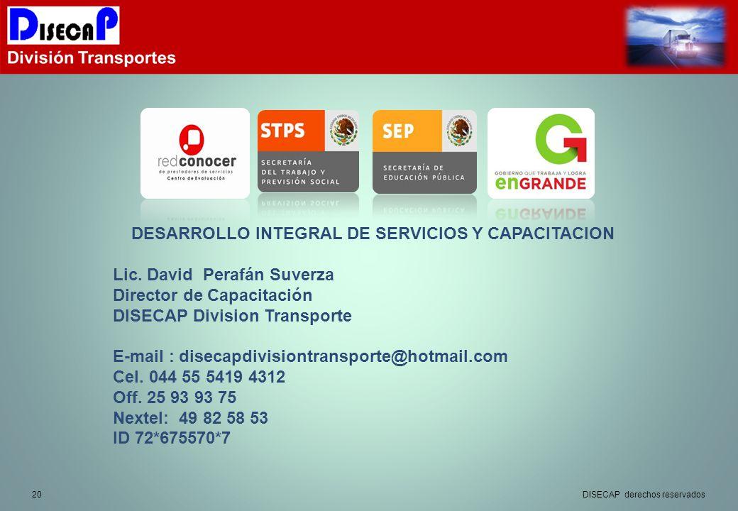 DESARROLLO INTEGRAL DE SERVICIOS Y CAPACITACION