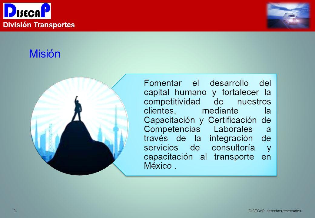División Transportes Misión.