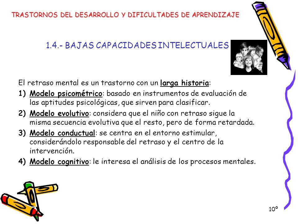 1.4.- BAJAS CAPACIDADES INTELECTUALES