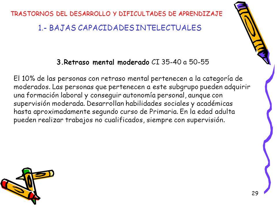 1.- BAJAS CAPACIDADES INTELECTUALES