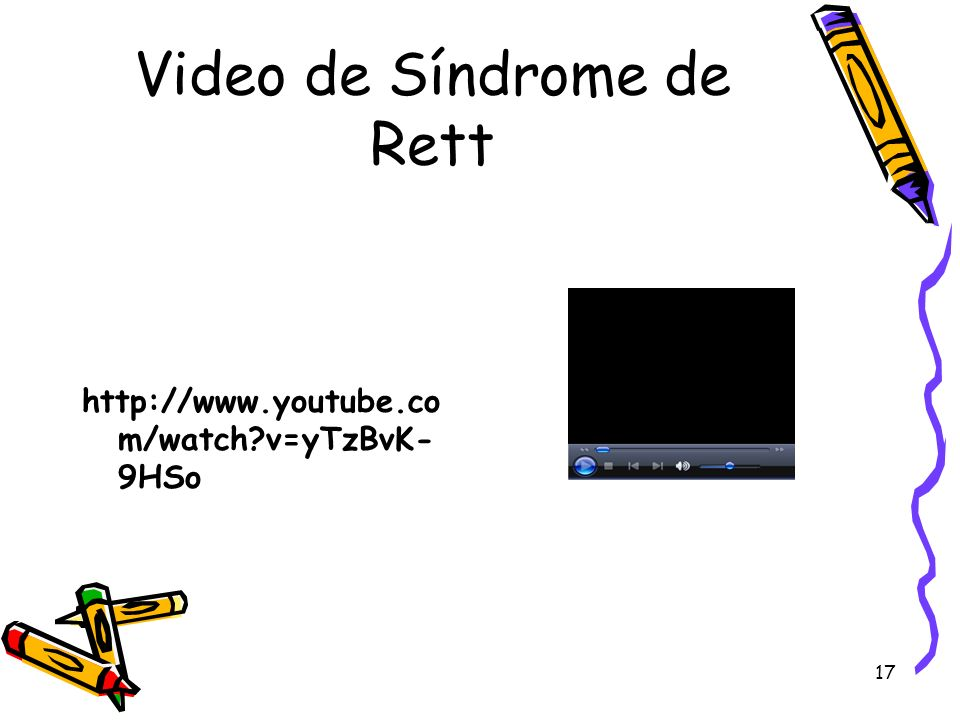 Video de Síndrome de Rett
