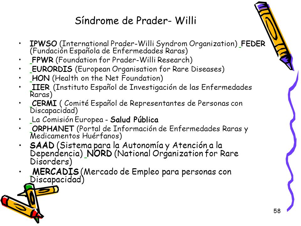 Síndrome de Prader- Willi