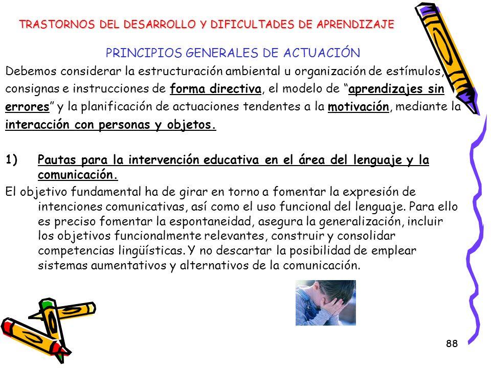 PRINCIPIOS GENERALES DE ACTUACIÓN