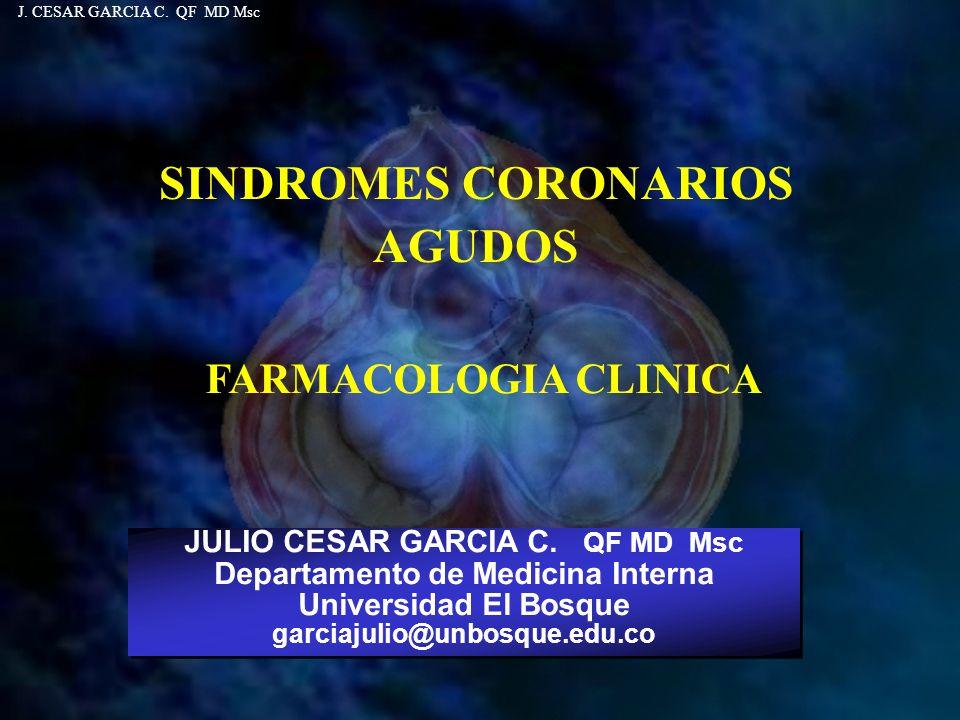 SINDROMES CORONARIOS AGUDOS