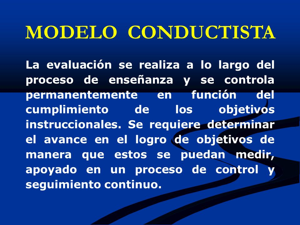 MODELO CONDUCTISTA