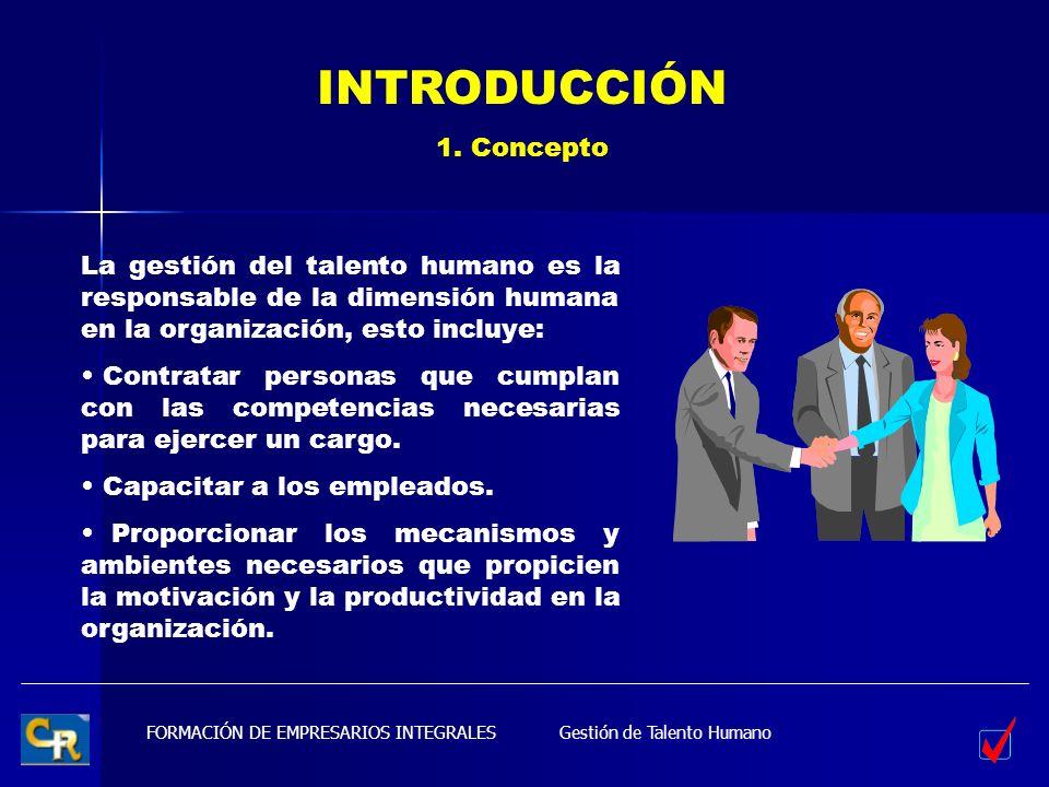 INTRODUCCIÓN 1. Concepto