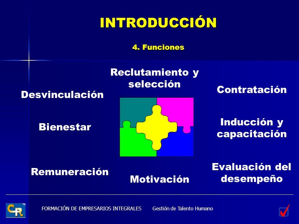INTRODUCCIÓN 4. Funciones