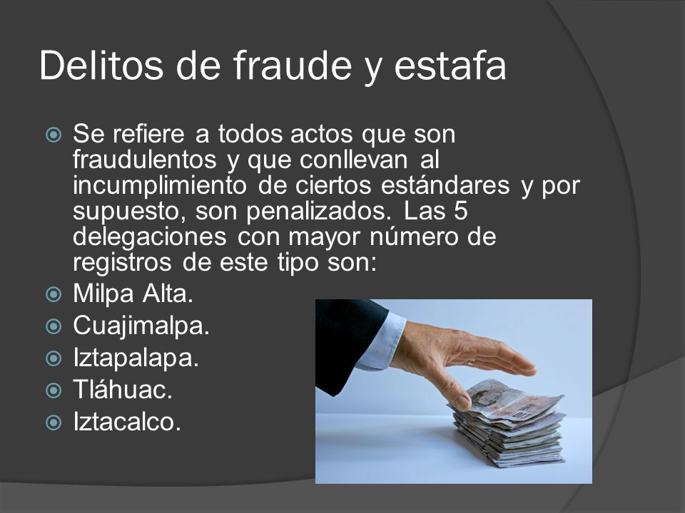 Delitos de fraude y estafa