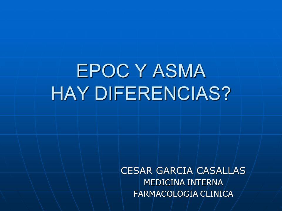 EPOC Y ASMA HAY DIFERENCIAS