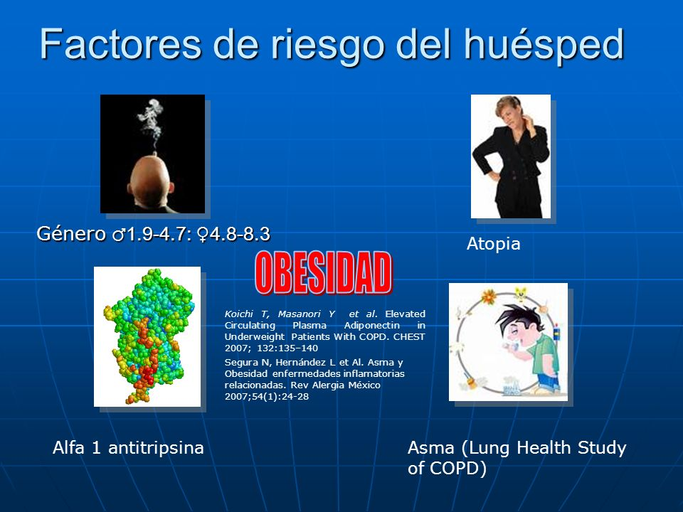 Factores de riesgo del huésped