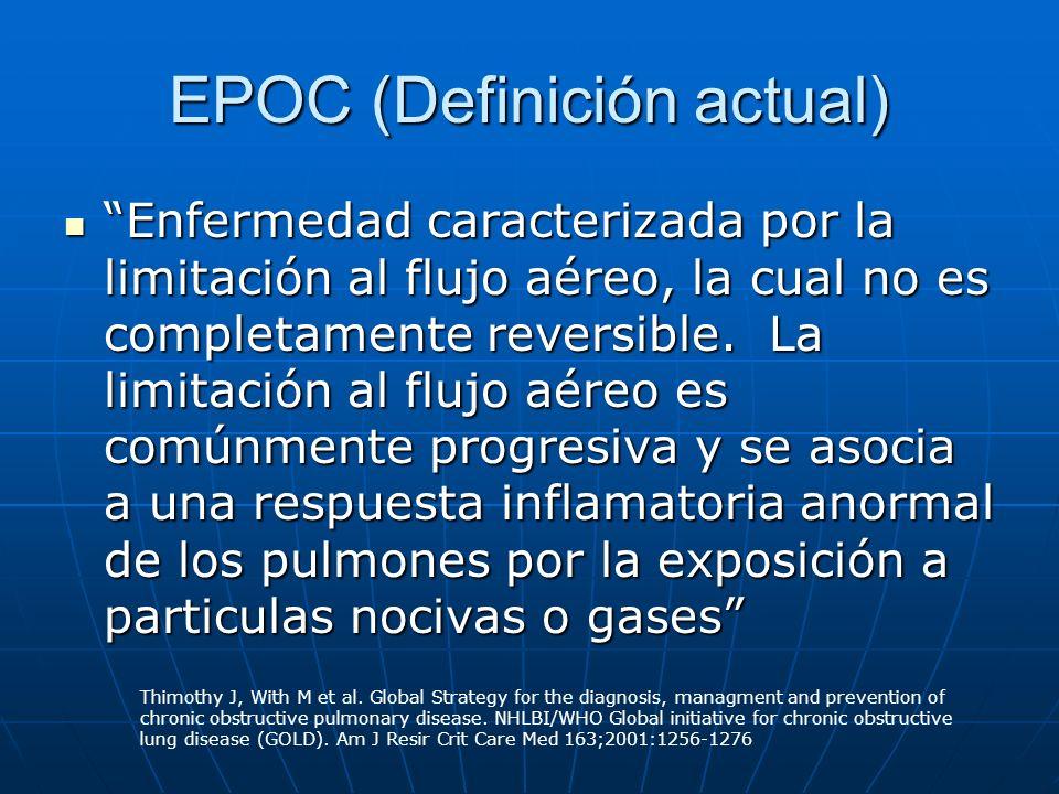 EPOC (Definición actual)