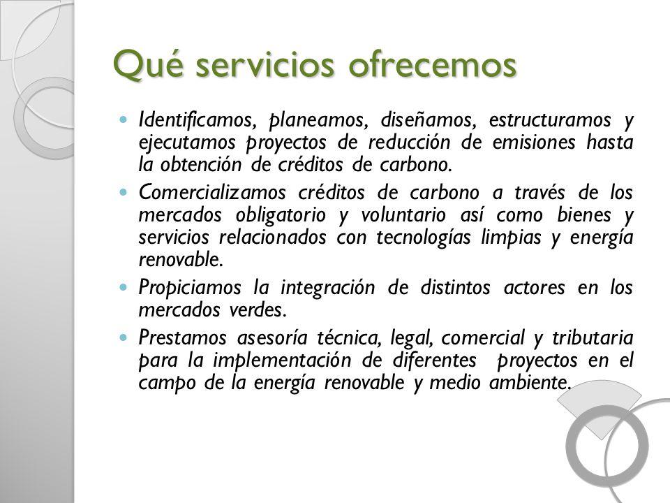 Qué servicios ofrecemos