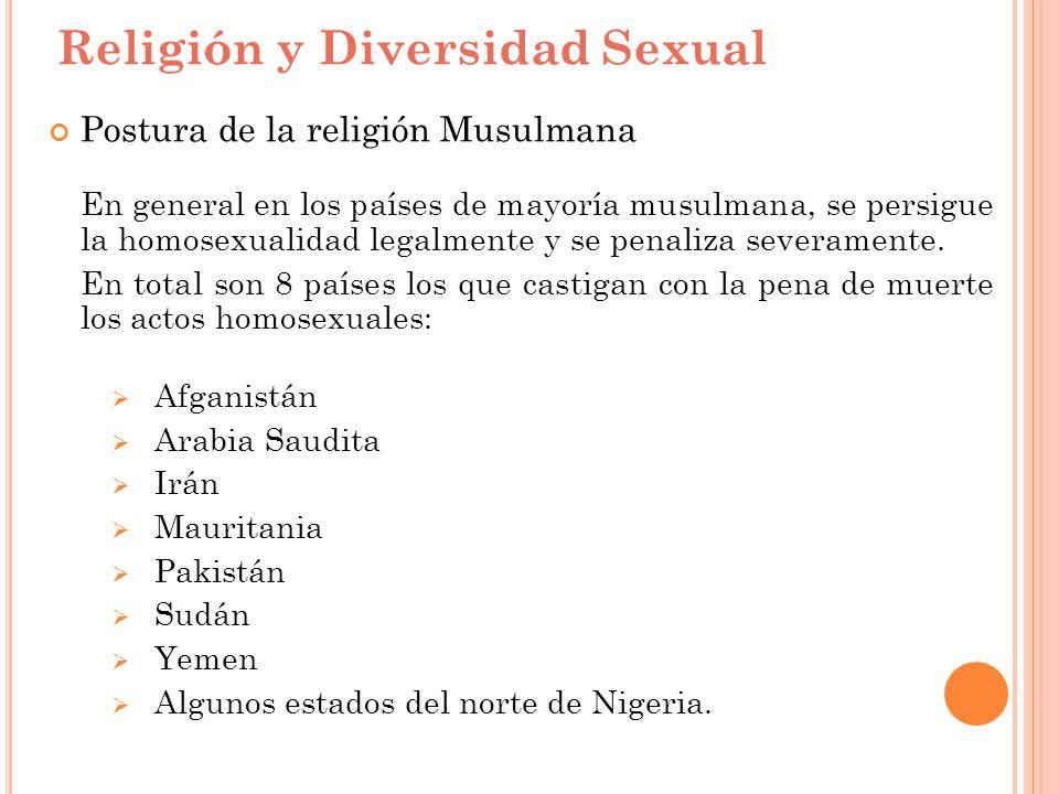 Religión y Diversidad Sexual