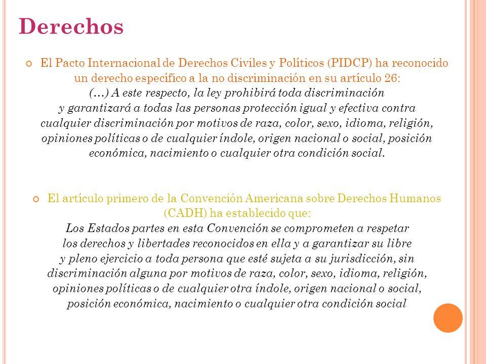 Derechos El Pacto Internacional de Derechos Civiles y Políticos (PIDCP) ha reconocido.