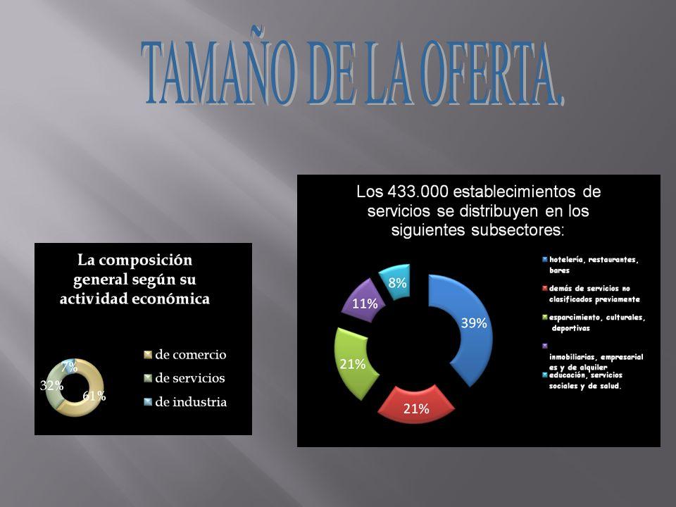 TAMAÑO DE LA OFERTA.