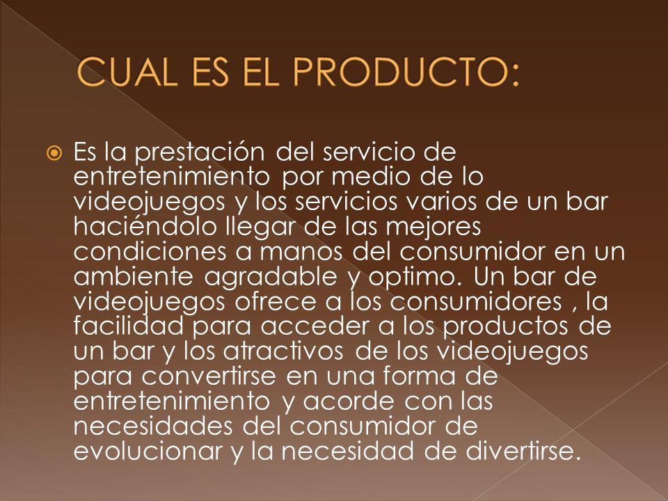 CUAL ES EL PRODUCTO: