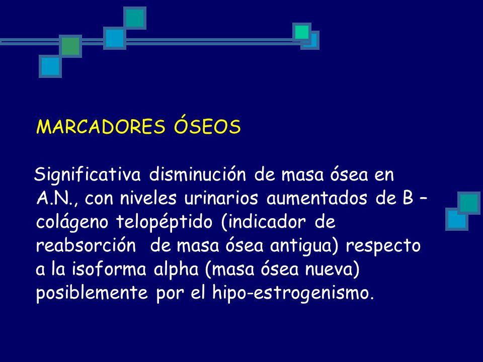 MARCADORES ÓSEOS