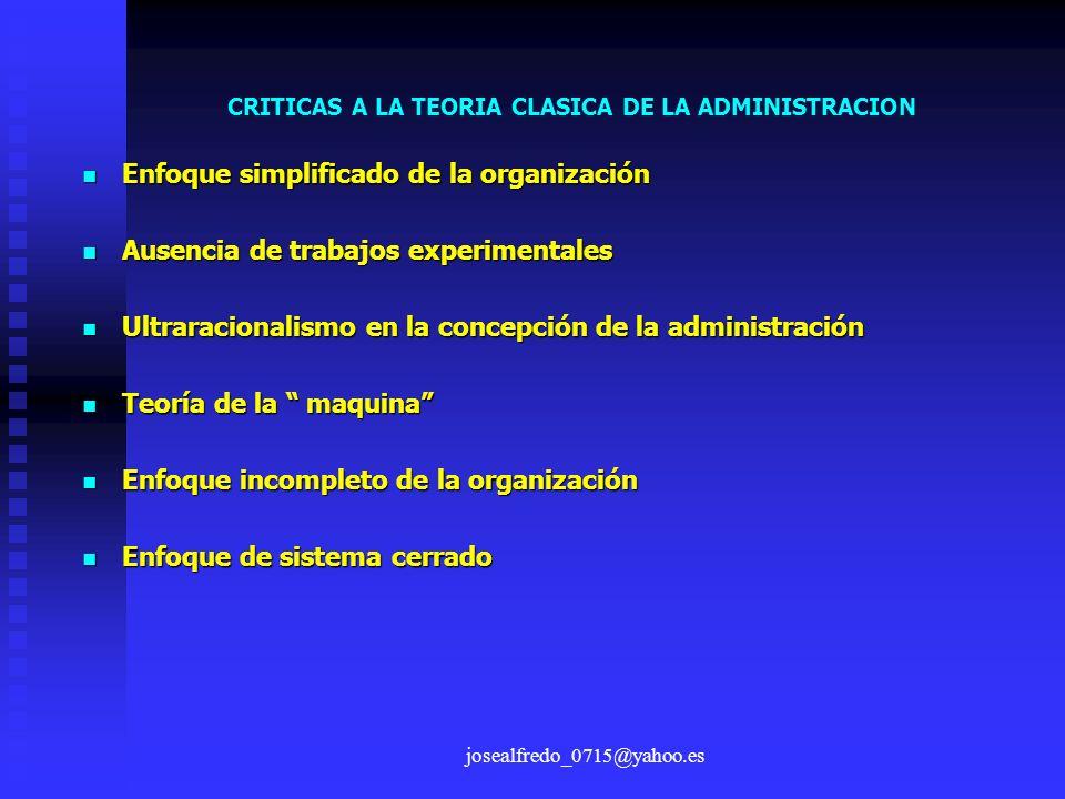 Enfoque simplificado de la organización