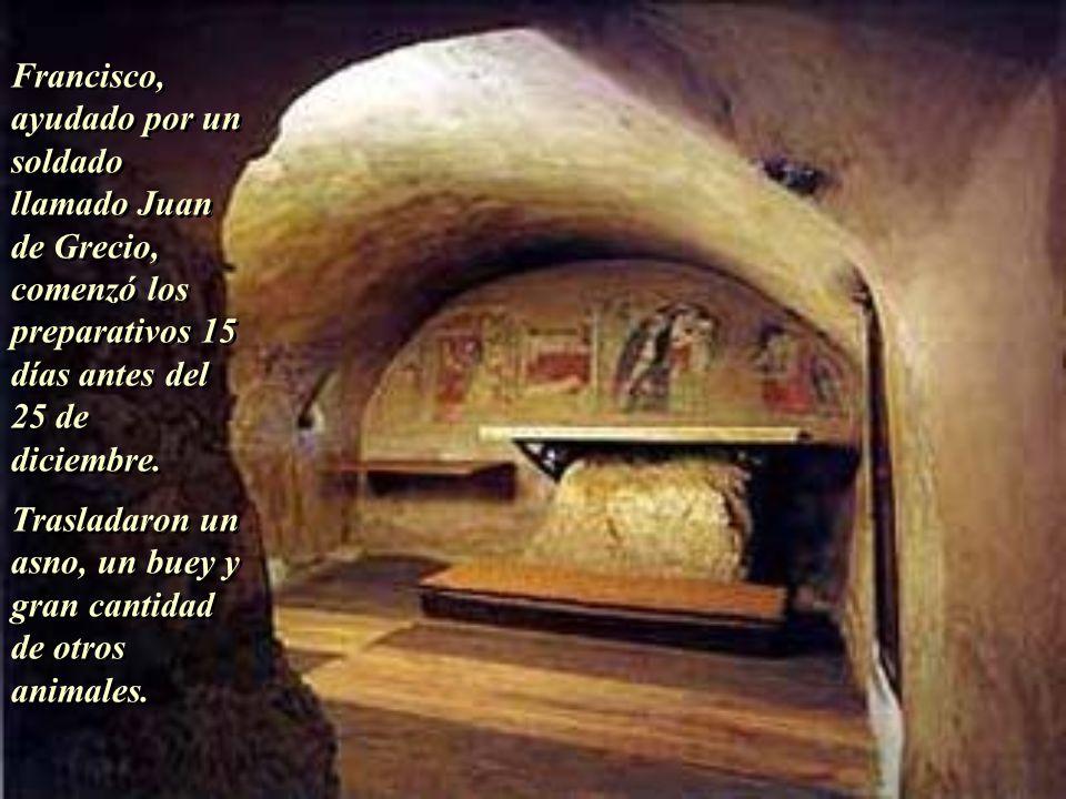Francisco, ayudado por un soldado llamado Juan de Grecio,