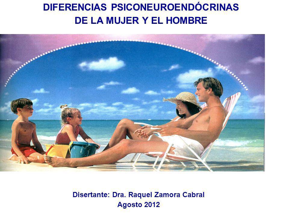 DIFERENCIAS PSICONEUROENDÓCRINAS DE LA MUJER Y EL HOMBRE