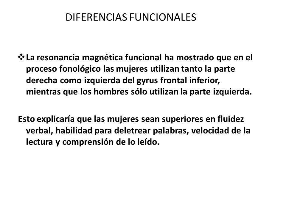 DIFERENCIAS FUNCIONALES