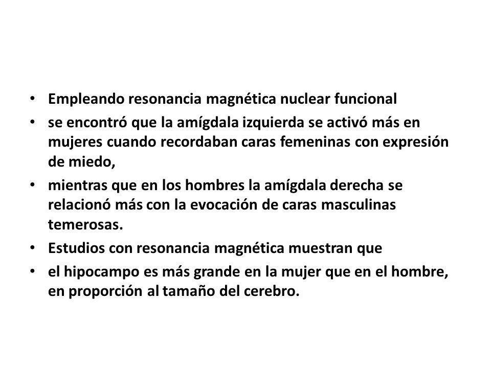Empleando resonancia magnética nuclear funcional