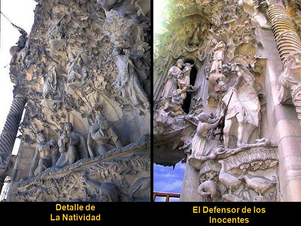 Detalle de La Natividad El Defensor de los Inocentes