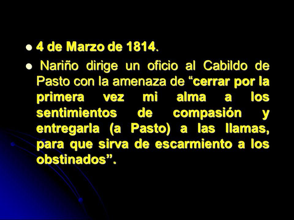 4 de Marzo de 1814.