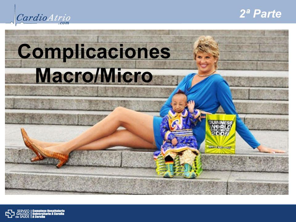 Complicaciones Macro/Micro