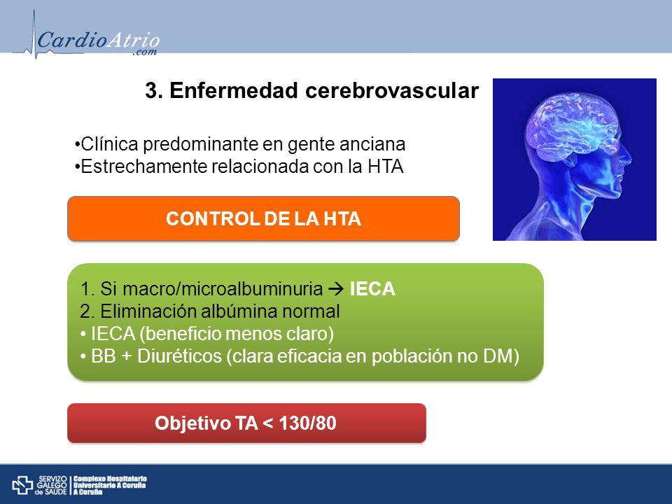 3. Enfermedad cerebrovascular
