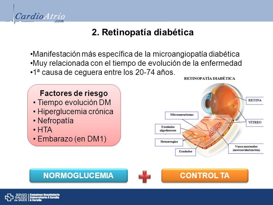 2. Retinopatía diabética