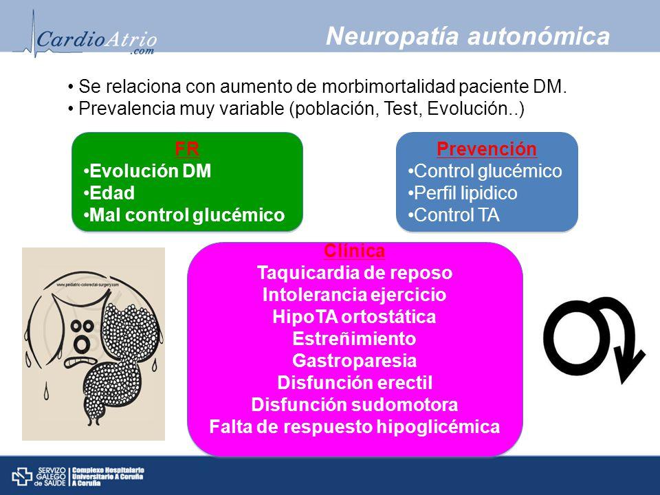 Neuropatía autonómica