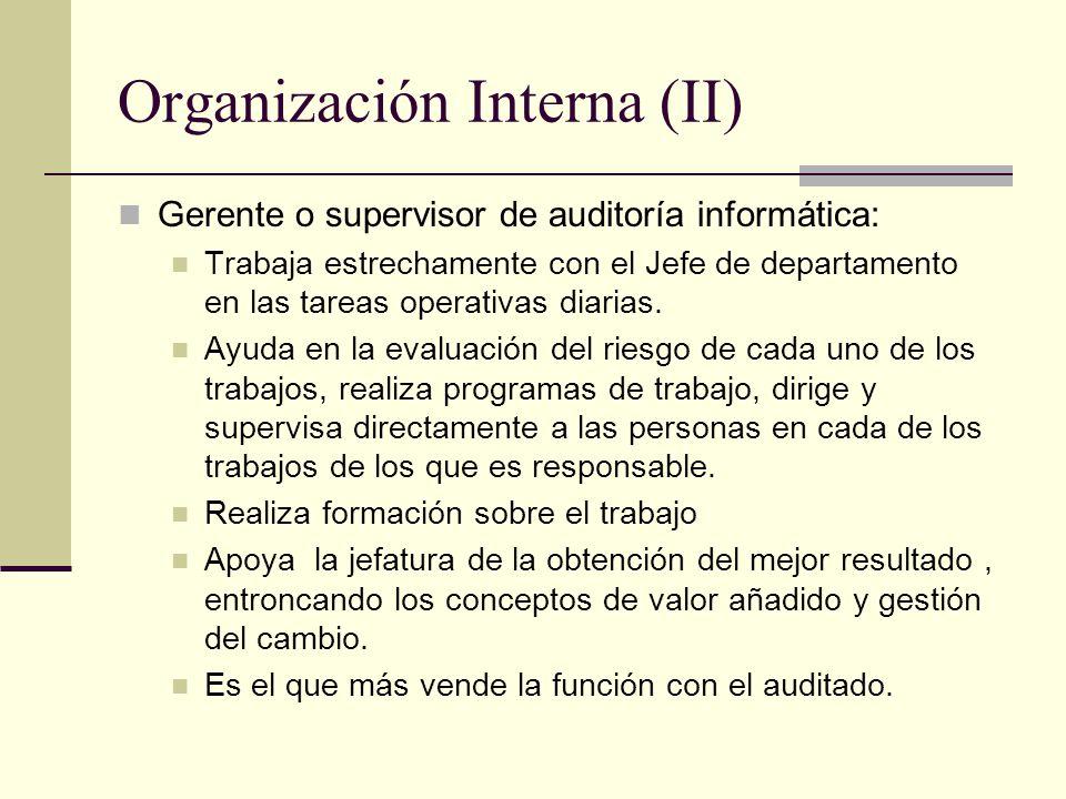 Organización Interna (II)