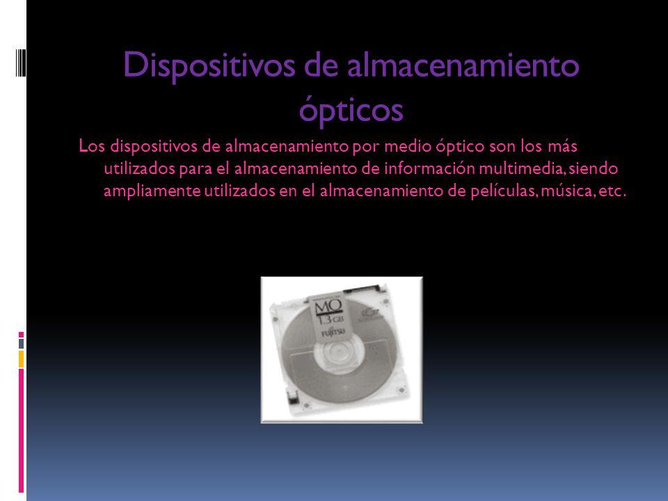 Dispositivos de almacenamiento ópticos