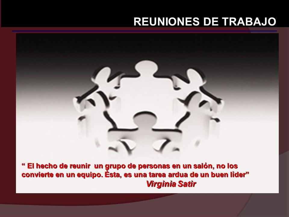 REUNIONES DE TRABAJO