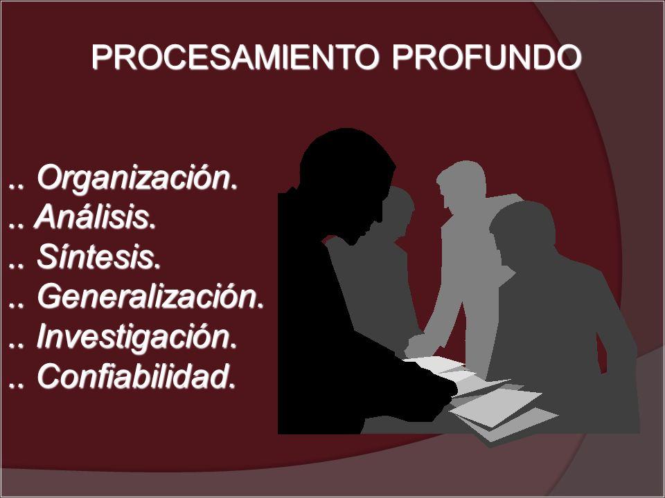 PROCESAMIENTO PROFUNDO