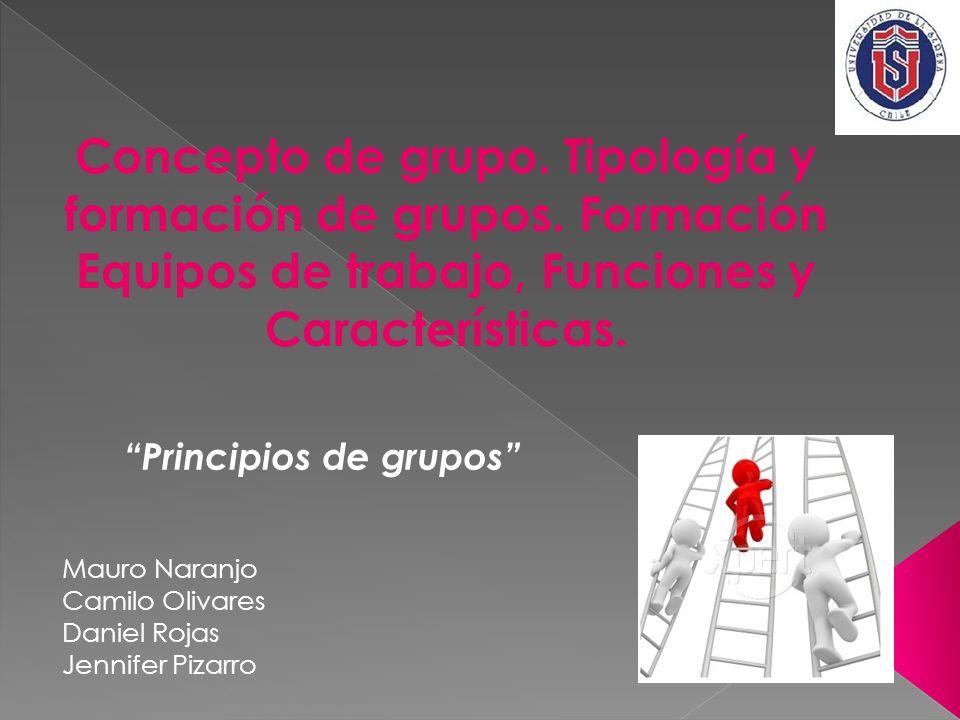 Principios de grupos