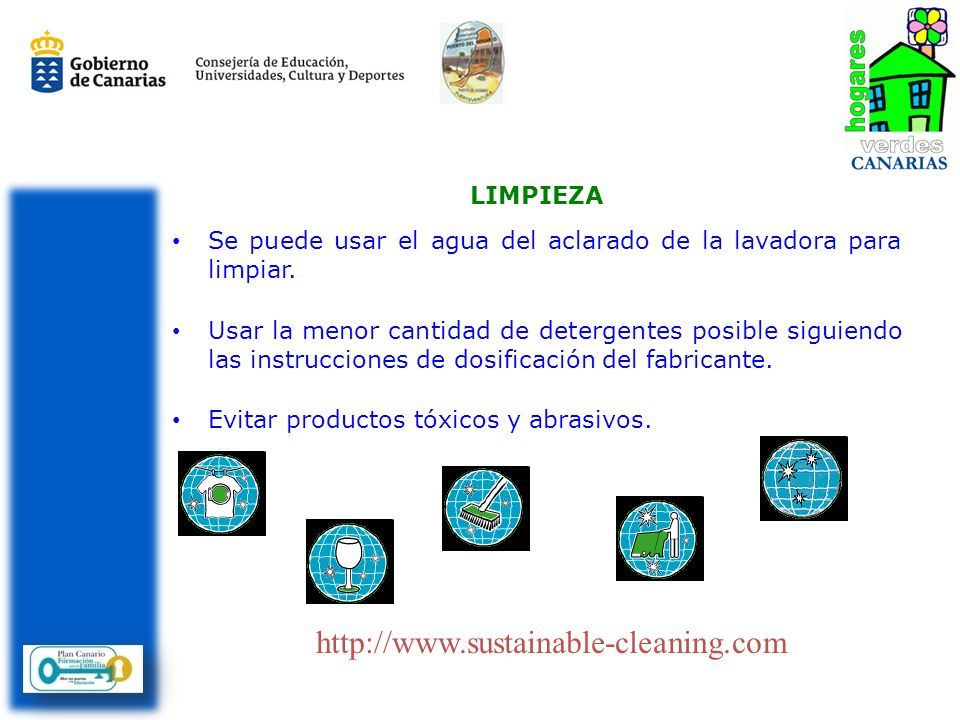 http://www.sustainable-cleaning.com LIMPIEZA