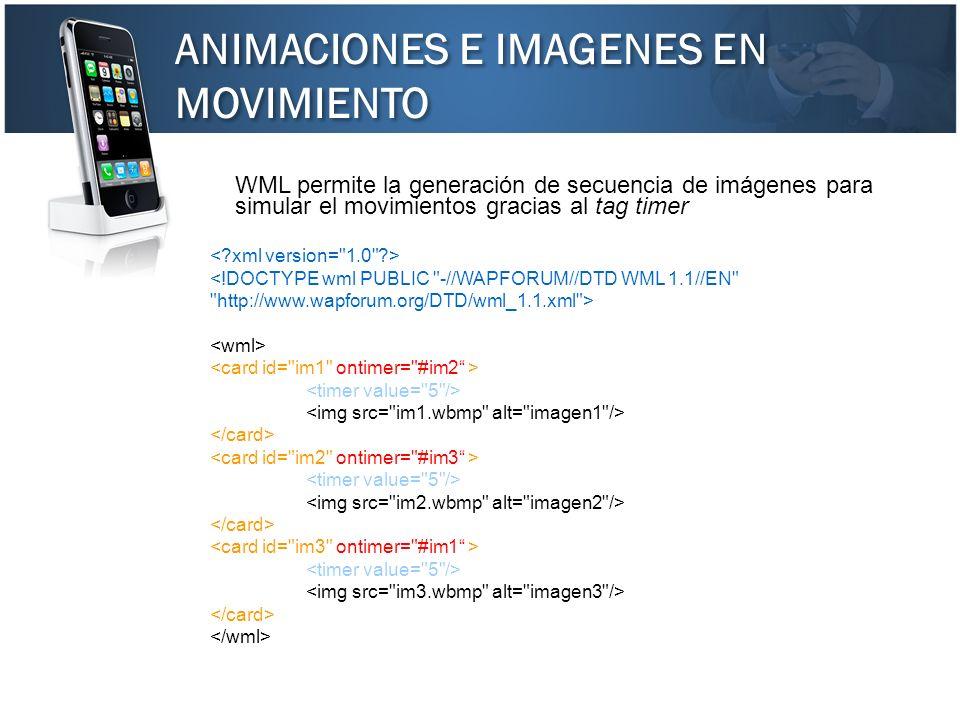 ANIMACIONES E IMAGENES EN MOVIMIENTO