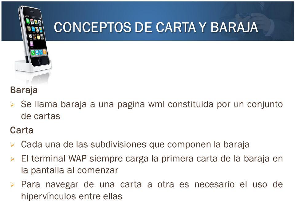CONCEPTOS DE CARTA Y BARAJA