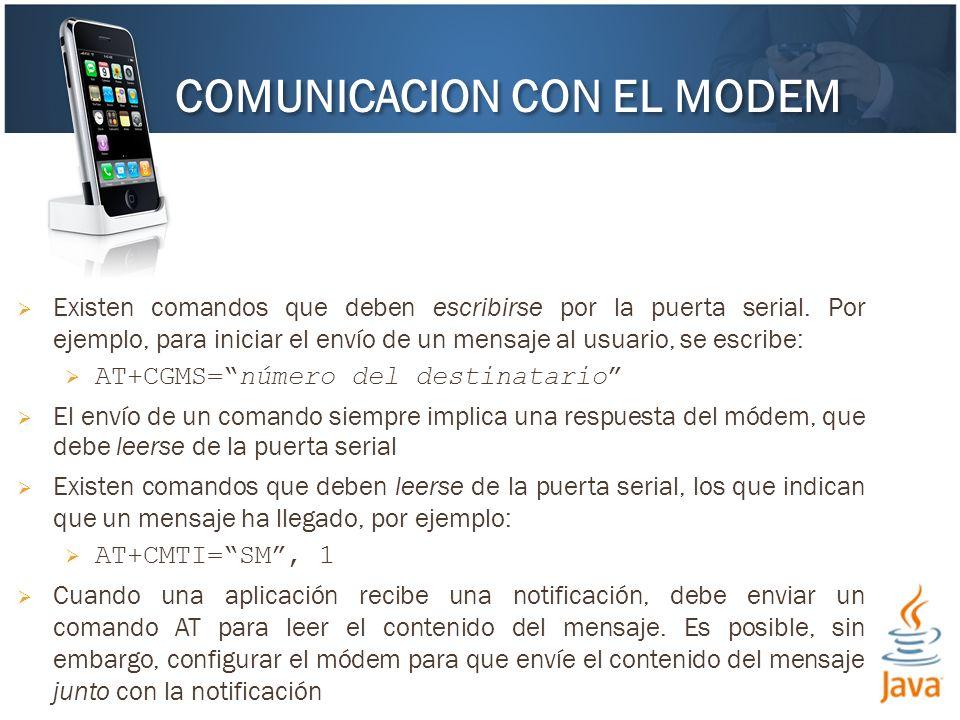 COMUNICACION CON EL MODEM