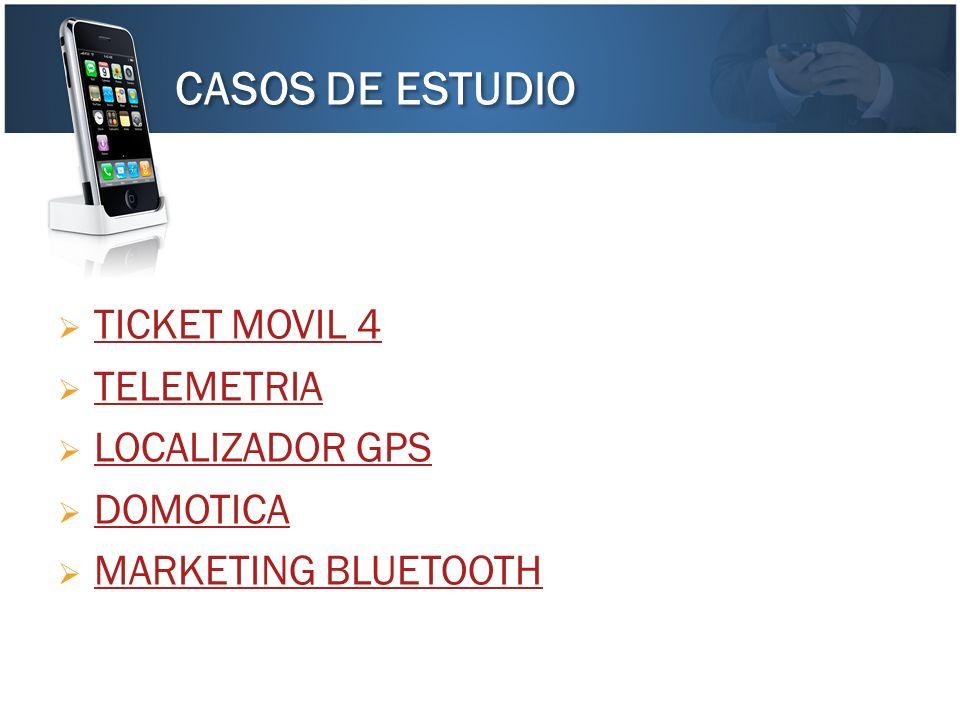 CASOS DE ESTUDIO TICKET MOVIL 4 TELEMETRIA LOCALIZADOR GPS DOMOTICA