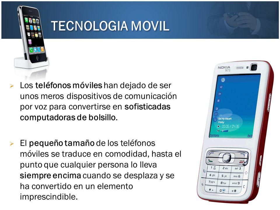 TECNOLOGIA MOVIL