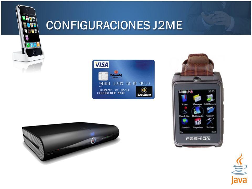 CONFIGURACIONES J2ME