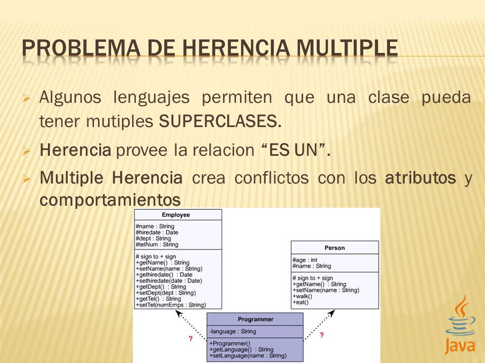 PROBLEMA DE HERENCIA MULTIPLE