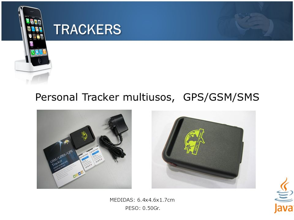 TRACKERS Personal Tracker multiusos, GPS/GSM/SMS PESO: 0.50Gr.